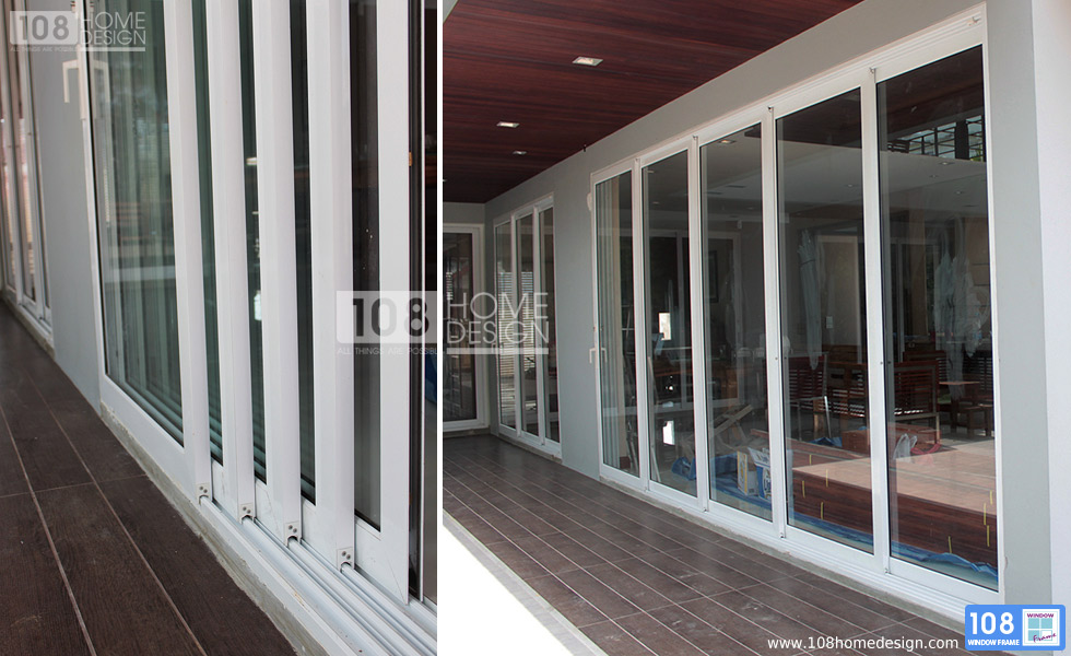 Multi track sliding glass doors multi track sliding door for Multiple sliding glass doors