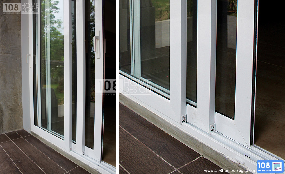 Multi track sliding doors 108 homedesign company limited for Exterior multi track sliding doors
